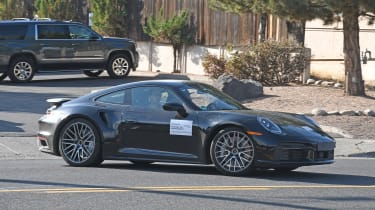 Porsche 911 Turbo S - side tracking - spies