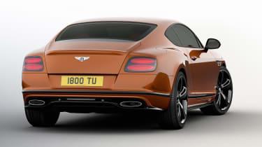 Bentley Continental GT Speed Black Edition rear