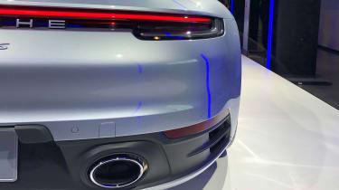 Porsche 911 - LA reveal exhaust