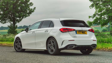 Mercedes A 180 d - rear static