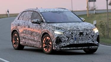 Audi Q4 e-tron spyshot
