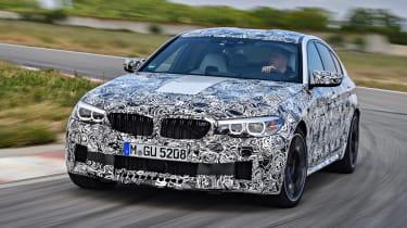BMW M5 prototype - front