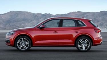 Audi Q5 SUV - side
