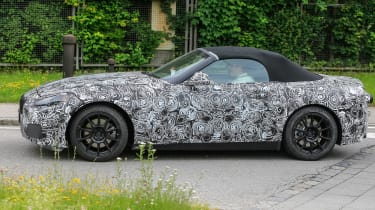 New BMW Z4 side profile turning