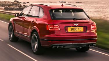 Bentley Bentayga V8 petrol announced - rear
