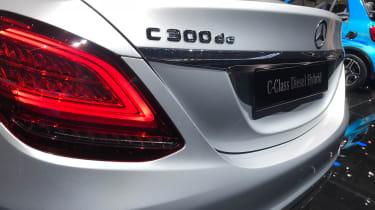 Mercedes C-Class - tailgate
