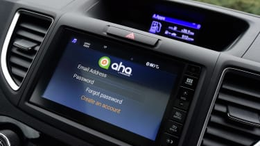 Honda CR-V long-termer - infotainment apps