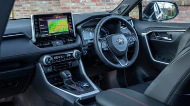 Toyota RAV4 plug-in hybrid - cabin