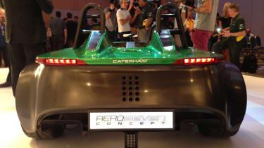 Caterham AeroSeven rear revealed