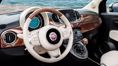 Fiat 500 Riva - interior 2