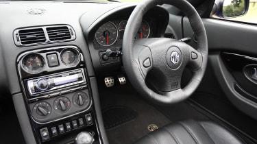 MG TF LE500 interior