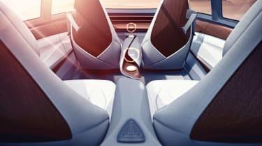 Volkswagen I.D Vizzion - seats