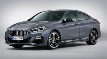 BMW 220d Gran Coupe  - front 3/4 static