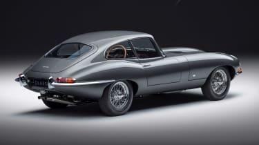 Jaguar E-Type 60 Collection - coupe rear static