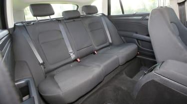 Used Skoda Superb rear seat room