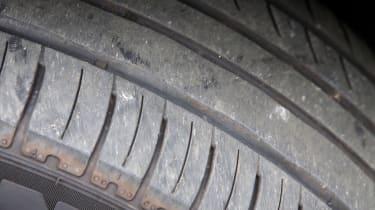 Used Volvo XC90 - tyre