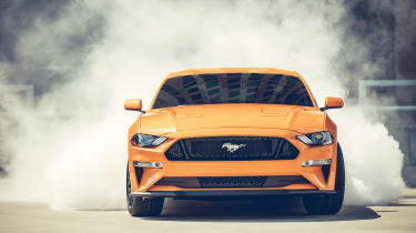 Ford Mustang - front drift