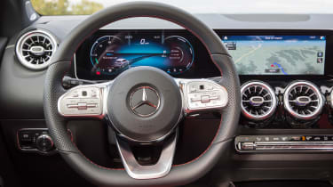 Mercedes B-Class - steering wheel