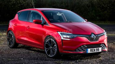 2019 Renault Clio - front (watermarked)