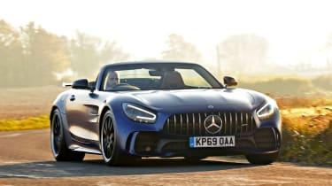 Mercedes-AMG GT R Roadster - front cornering