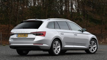Skoda Superb iV - rear static
