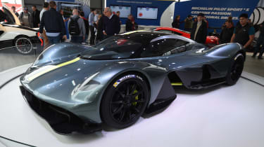 Aston Martin Valkyrie - Goodwood front