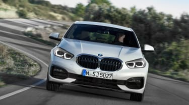 New BMW 1 Series 2019 head on
