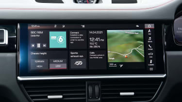 Porsche Cayenne Coupe GTS - screen