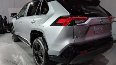 New Toyota RAV4 rear – NYAS