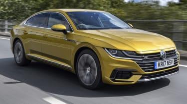 Volkswagen Arteon review - front quarter