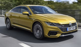 Volkswagen Arteon review - front quarter