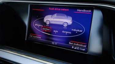 Audi A5 Cabriolet display