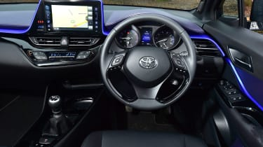 Toyota C-HT 1.2 Icon 2017 - interior
