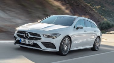 Mercedes CLA Shooting Brake - front