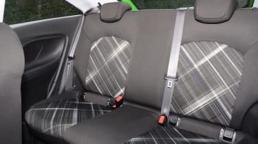 VW Touareg rear seats