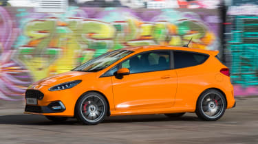 Ford Fiesta ST Performance - front action