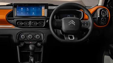 Citroen C3 small SUV - dash