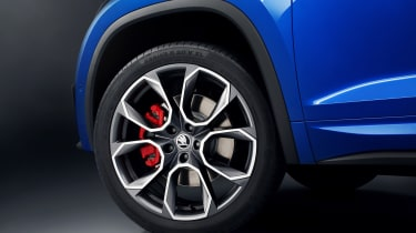 Skoda Kodiaq vRS wheel