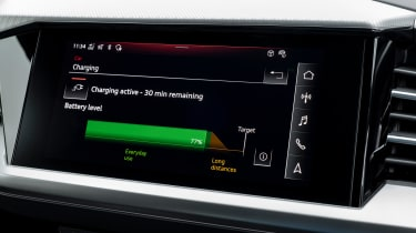 Audi Q4 e-tron Sportback - screen