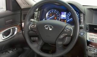 Infiniti steering wheel
