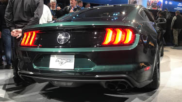 Ford Bullitt Mustang GT - Detroit full rear