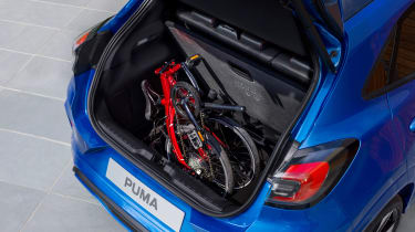 Ford Puma - boot bike