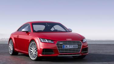Audi TTS 2014 front