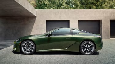 Lexus LC Coupe Limited Edition - side