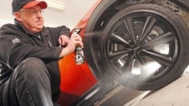 The best tyre shine