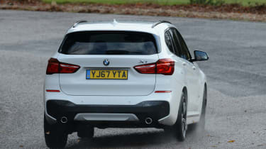 BMW X1 - rear