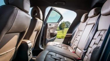 New DS 4 diesel UK drive rear seats