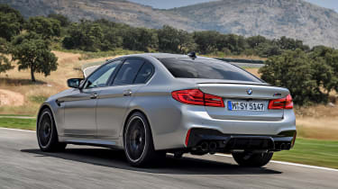 BMW M5 Competition - rear