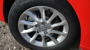 Audi A3 Sportback 1.4 TFSI rear seats