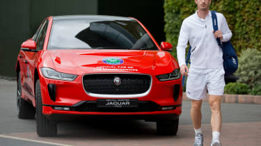 Andy Murray Jaguar I-Pace - front static